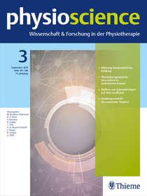 aktuelle Ausgabe der Physioscience